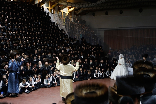 Hassidic wedding Netanya, November 17